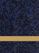 Gravurschild Celestial Blue / Gold