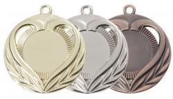 Medaille Ø 50mm Liebe mit Herz
