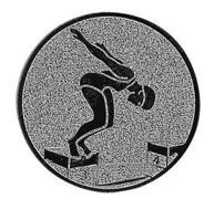 Emblem Schwimmerin