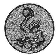 Emblem Wasserball Gold 25 mm