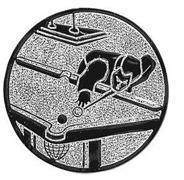 Emblem Billardspieler II