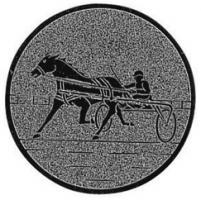 Emblem Pferd Gespannfahrer